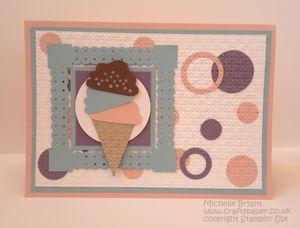 Cupcake ice cream