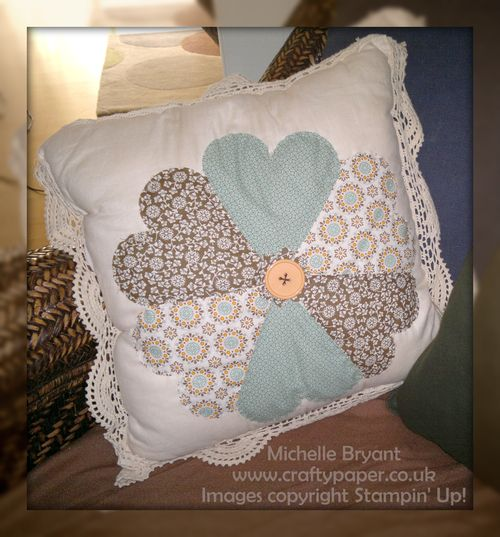 Spiced Paisley cushion